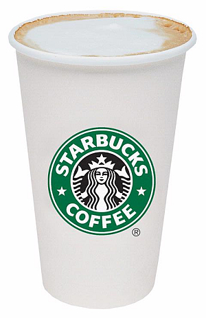 On the Side of a StarbucksCup
