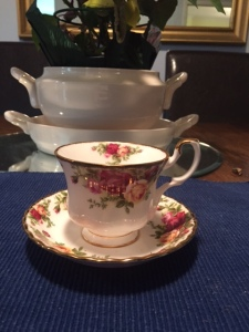 Delicate tea cup